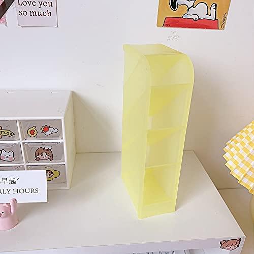 SUNTAOWAN Macarons Simple Color Design Titular de la Pluma Linda de Escritorio Caja de Almacenamiento Efectos de Escritorio for los Escolares de papelería
