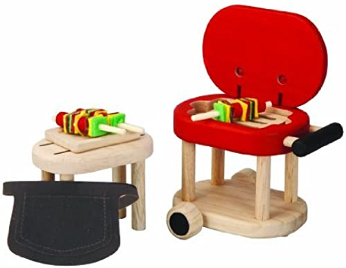Plan Toys Plandollhouse Barbeque Set by PlanToys