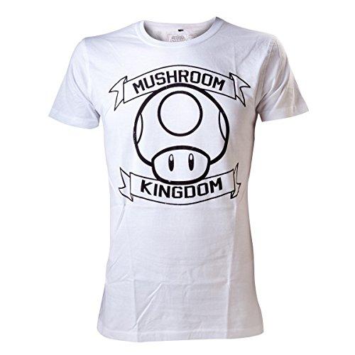 T-Shirt 'Super Mario Bros' - Mushroom Kingdom - Blanc - M