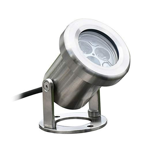 ZWYSL Lámpara De Foco LED IP68 A Prueba De Agua 12V 3W Cambio De Color RGB Luces De Piscina para Piscinas, Fuentes, Plazas (Color : C)