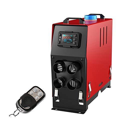 Calentador diesel Calefactor Diesel 5KW Calentador De Aire Silenciador 12V Calentador de vehículos De 5000W Con Interruptor LCD De Barcos RV Autobús Coche Autocaravana (Color : 24V)