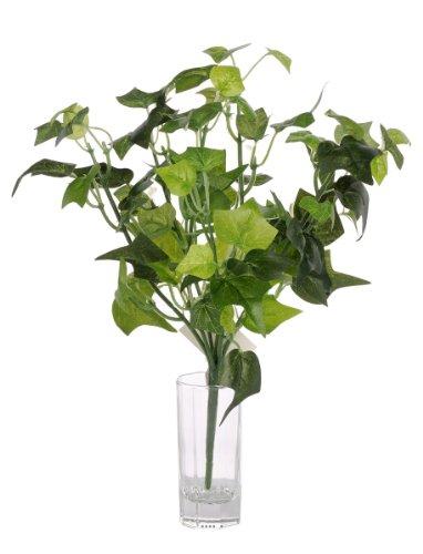 Artif-deco - Piquet de lierre artificiel h 27 cm 80 feuilles