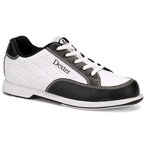Dexter Women's Groove III Bowling Shoes, White/Black, Size 9.0