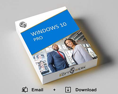 Windows 10 Pro Vollversion | Aktivierungspaket | Original Produktschlüssel + 32-/64-bit Software Download-Link | EU-Konform