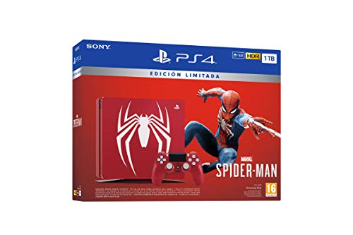 PlayStation 4 (PS4) - Consola de 1 TB - Edición Especial + Marvel's Spider-Man