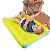 ZXL Aufblasbare Luftmatratzen Faltbare Luftmatratze für Kleinkinder Wickelauflage Leichtes Tragen Bequemes Aufblasen Kleinkind Campingmatratze