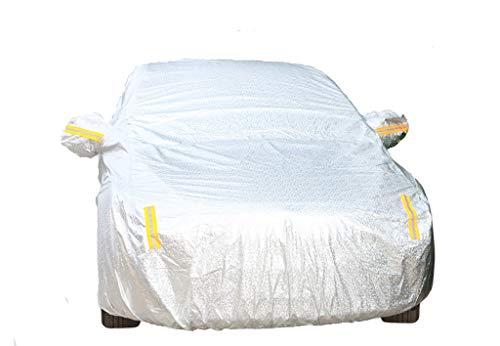 Protection Contre Le Soleil Vêtements imperméables compatibles avec la Couverture de Voiture BMW Mini Countryman PACEMAN Cooper (Color : Silver, Size : Mini PACEMAN)
