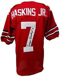 Dwayne Haskins Jr. Autographed Signed Ohio State Buckeyes Osu Jersey JSA 143301