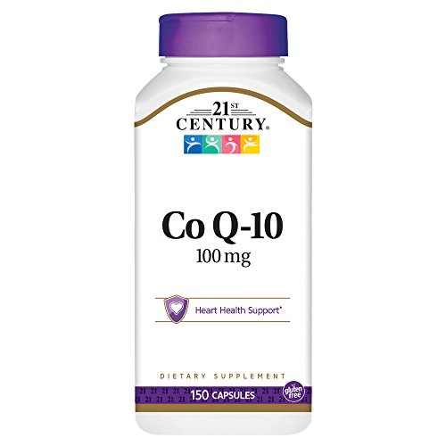 21st Century Co Q10 100 mg Capsules, 150 Count
