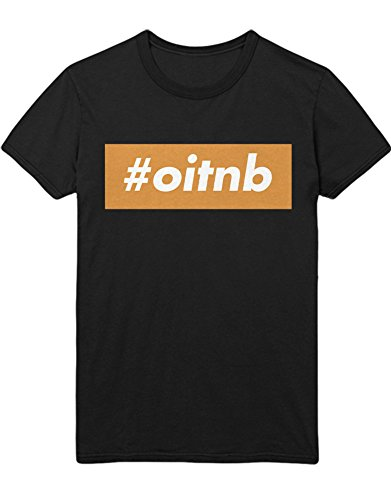 T-Shirt Orange is The New Black Hashtag OITNB C210040 Schwarz L