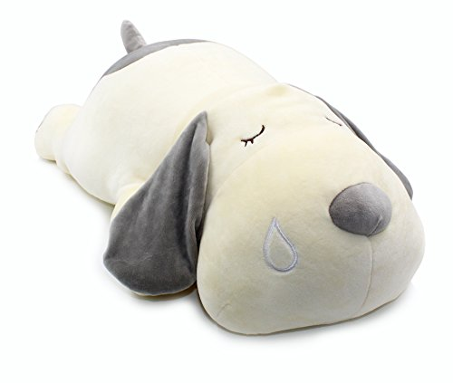 Vintoys Very Soft Dog Big Hugging Pillow Plush Puppy Stuffed Animals Gray 23.5'