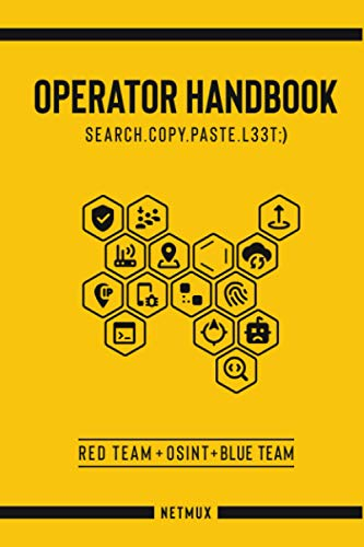 Compare Textbook Prices for Operator Handbook: Red Team + OSINT + Blue Team Reference  ISBN 9798605493952 by Picolet, Joshua