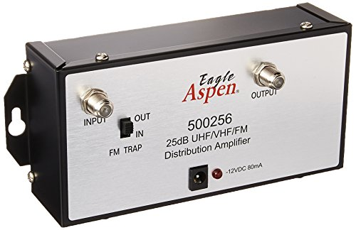 Eagle EASDISTAMP25GX 500256 Distamp 25GX 25dB Distribution Amplifier,SILVER