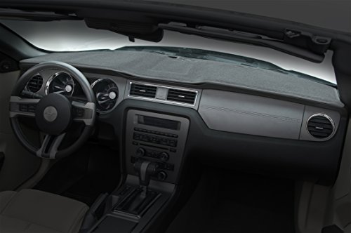 Coverking Custom Fit Dashboard Cover for Select Dodge Journey Models - Poly Carpet (Gray)