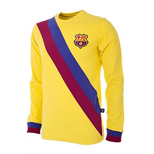 Copa Football - Camiseta de Distancia Retro FC Barcelona 1974-1975 (XL)