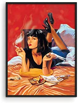 Pulp Fiction Posters for 90s Room Aesthetic by Haus and Hues Quentin Tarantino Movie Posters product image