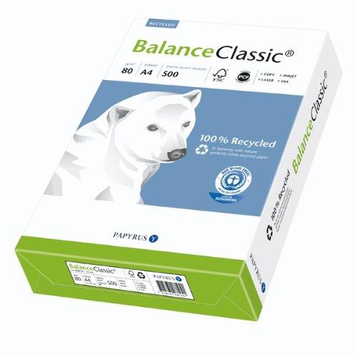 2500 Blatt Balance Classic 100% Recycling Büro Papier DIN-A4 80g/m²