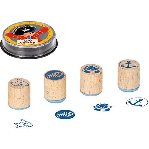 Set de tampons en bois Capt´n Sharky