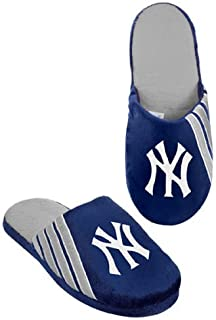 38157c7dc28 2012 New York Yankees MLB Hard Sole Team Stripe Logo Slippers