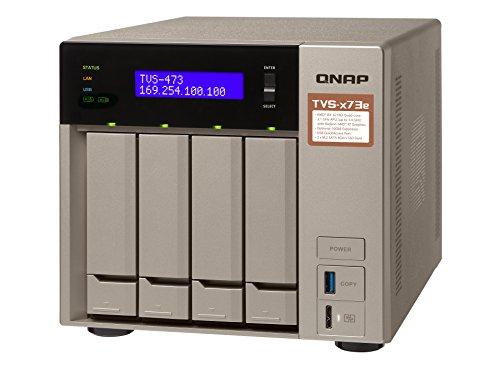 QNAP TVS-473e-4G/12TB-RED 4 Bay NAS -
