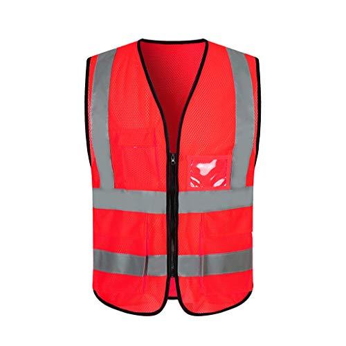 Safety Vests DBL Chaleco reflectante de seguridad Malla transpirable Ropa de trabajo Viaje por la noche Seguridad Chaleco de seguridad de alta visibilidad chalecos de seguridad