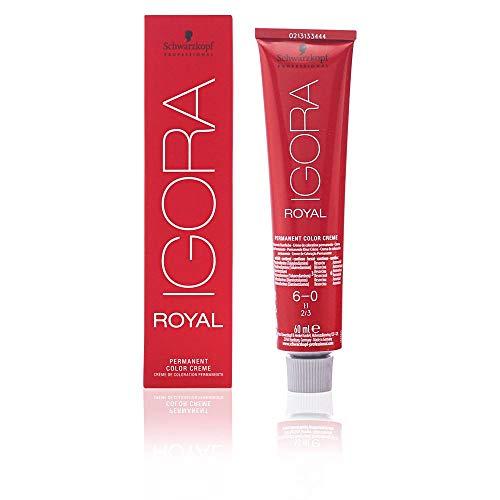 Schwarzkopf IGORA Royal Premium-Haarfarbe 6-0 dunkelblond, 1er Pack (1 x 60 g)