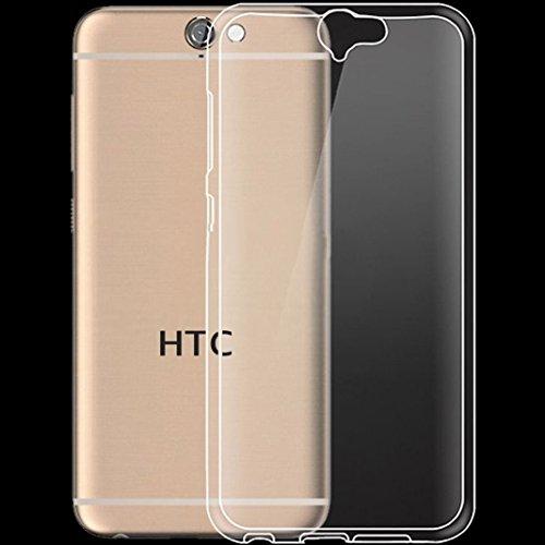tomaxx HTC One A9 Ultra Slim Super dünn Schutzhülle Silikon Case Tasche Durchsichtig