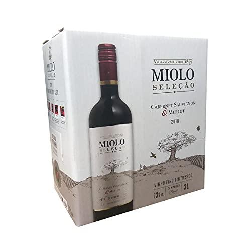Vinho Miolo Tinto Seleção Cabernet Sauvignon Merlot Bag-in-box 3L