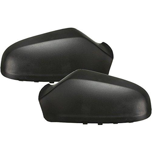All4cars OE 6428917 - LH, OE 6428918 - Carcasa para espejo retrovisor RH de color negro, par O/S & N/S