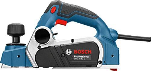 Bosch Professional Hobel GHO 26-82D (710 Watt, inkl. Staubbeutel, Winkelschraubendreher, Parallelanschlag, im Karton)