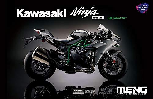 モンモデル 1/9 カワサキ Ninja H2 多色成型版 プラモデル MMT-002S