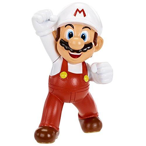 Super Mario mini Figur (6cm) - Fire Mario/Feuer Mario