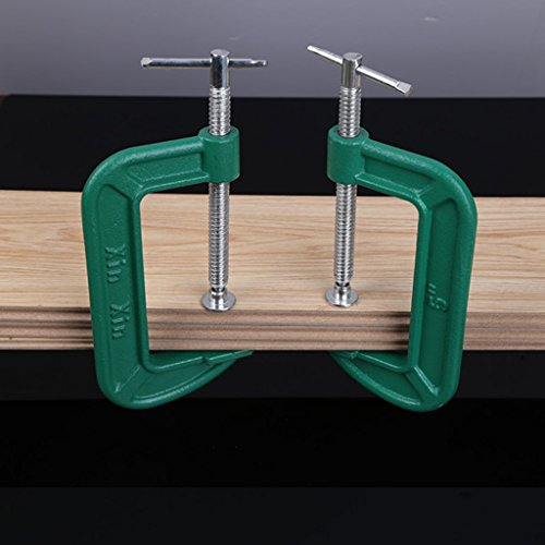 3-10'' Heavy Duty G Clamp C Grip Holder Clasp Vice 1 Piece C-Clamp Grip/Vice - 10 Inch