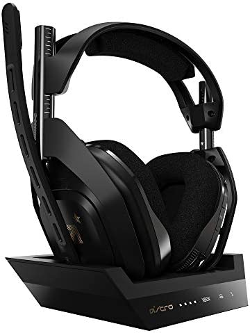 ASTRO Gaming A50 Wireless Base Station for Xbox Series X S Xbox One PC Black Gold product image
