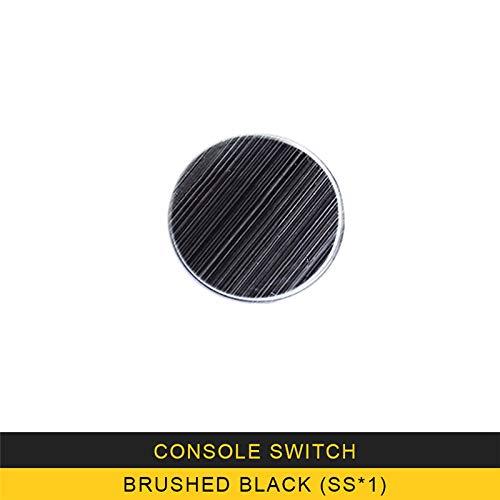SBCX para Audi A3 2017 2019 Car Styling Center Console Multi Media Knob Circle Cover Trim Frame Sticker Interior Accessories