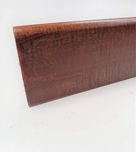 Battiscopa in legno massello mm. 70x10. Made in Italy. (tinta noce medio mm.70x10 ml.22,50)