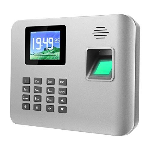 FOLOSAFENAR Reloj de Asistencia de Tiempo Reloj de Tiempo 100-240V Máquina de Asistencia(Australian regulations (100-240V))