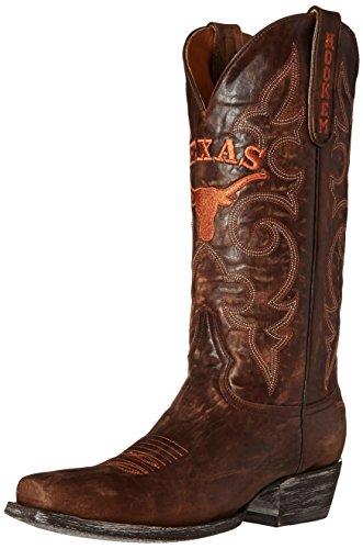 Gameday Boots NCAA Texas Longhorns Herren Boardroom Style Stiefel, Herren, Messing, 8 D (M) US