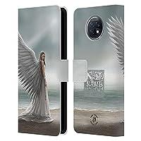 Head Case Designs オフィシャル ライセンス商品 カスタムケース パーソナライズ ユベントスAnne Stokes スピリット・ガイド アート Xiaomi Redmi Note 9T 5G 専用レザーブックウォレット カバーケース