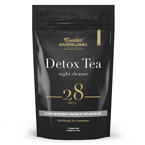 Detox Tea 28 Day Ultimate Teatox - Night Cleanse - Burn Fat and Boost Your Energy, Colon Cleanse, Restore Your Body Natural Balance and Accelerate Weight Loss
