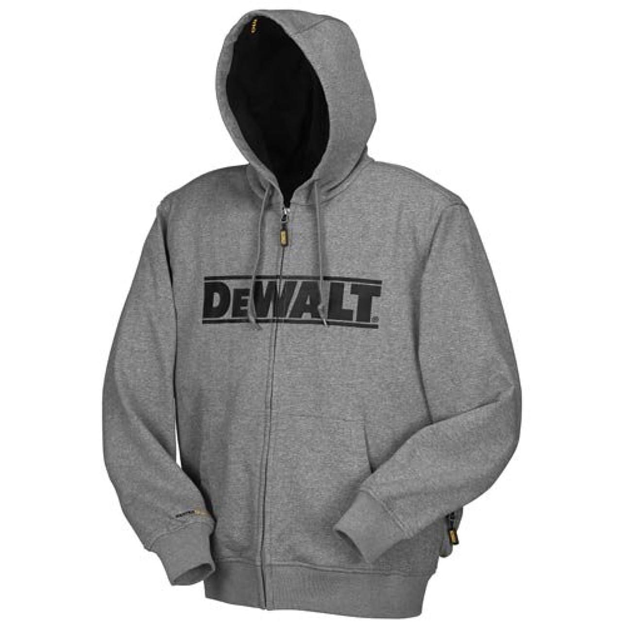 郡ダウンタウン統計DEWALT DCHJ068B-XL 20V/12V MAX Bare Hooded Heated Jacket, Gray, X-Large by DEWALT