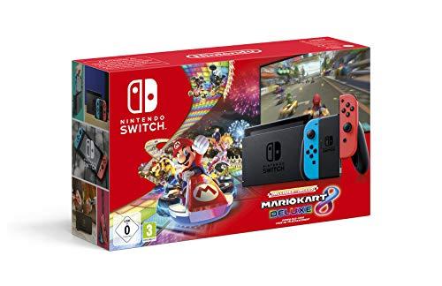 Console Nintendo Switch Mario Kart 8 Deluxe (Code de téléchargement...