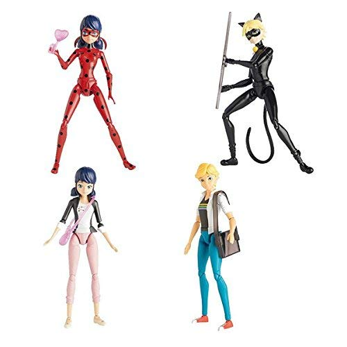 LadyBug - Figura articulada, 14 cm (Bandai 39720SH), surtido: modelos/colores aleatorios