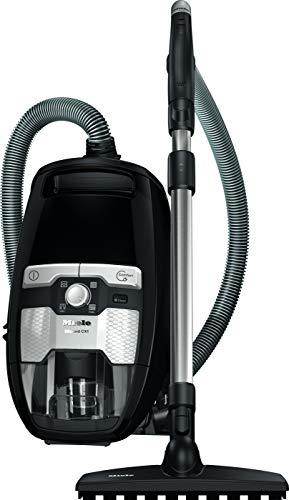 Miele Blizzard CX1 Series 120 Parquet PowerLine, 890 Watt, Parkett Bodendüse, 11 Meter Aktionsradius, 3-teiliges Zubehör, schwarz