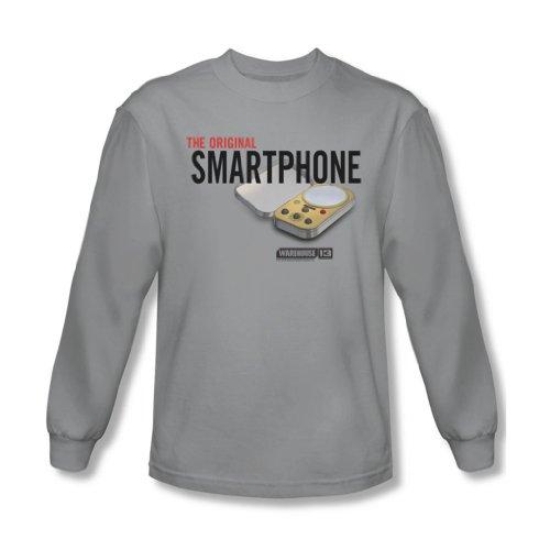 Warehouse 13 - Originaux shirt manches longues Smartphone hommes en argent -, X-Large, Silver
