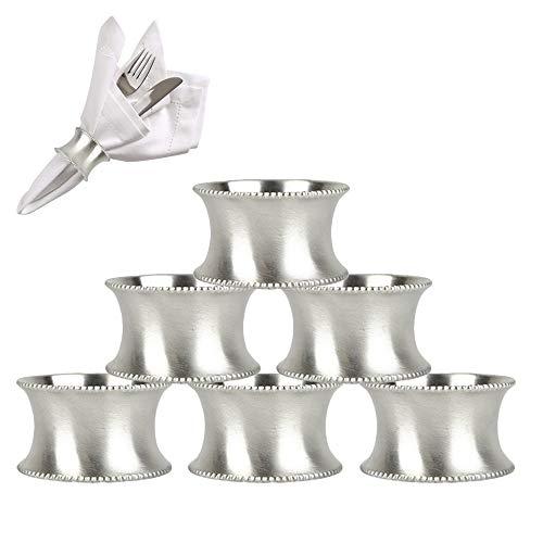 Runde Serviette Ringe für Hochzeit Bankett Dinner Party Hotel Serviette Ringe 6 Stück