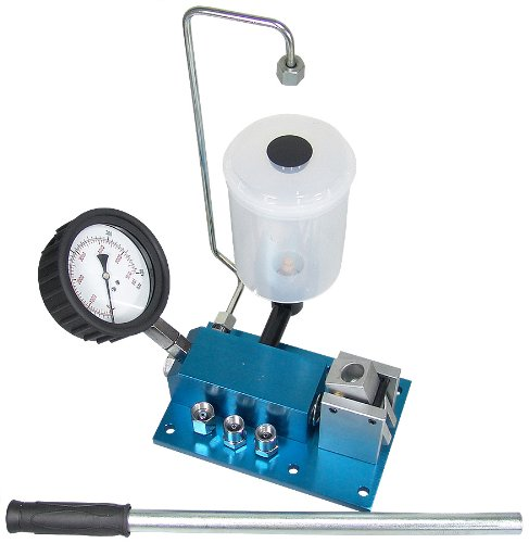A de bt095Diesel Inyectores abdrück dispositivo y dispositivo de prueba coche Uno inyectores Inyector Tester Comprobador Huellas prueba dispositivo comprobar probar Herramientas