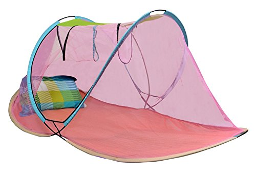 AmazingHind Mosquito Net.Foldable Mosquito Net for Single Bed (Multi Color)