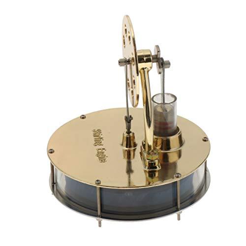 IPOTCH Mini Stirlingmotor, Niedertemperatur Sterling Engine Motordampf Hitze pädagogisches Spielzeug