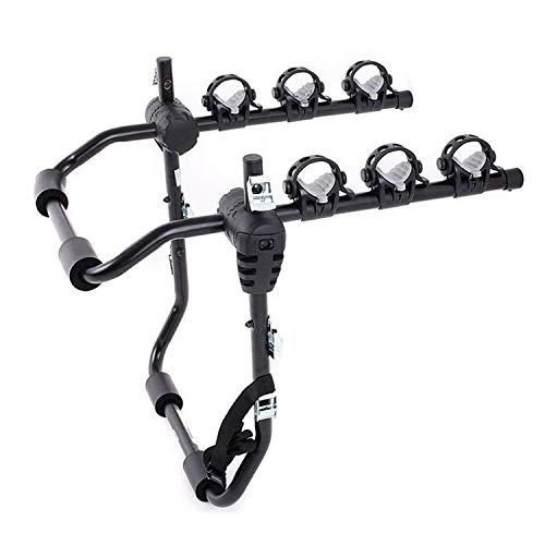 N \ A Portaequipajes para Bicicletas para 3 Bicicletas (Compatible con la mayoría de los sedanes/hatchbacks/minivans y SUV)
